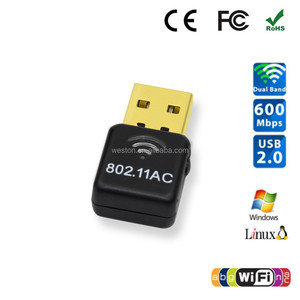 Cheap Realtek rtl8811au RJ45 Wifi USB Adapter Driver 2.4Ghz 5.8Ghz Wireless Wifi Dongle for Set Top Box Android Tablet