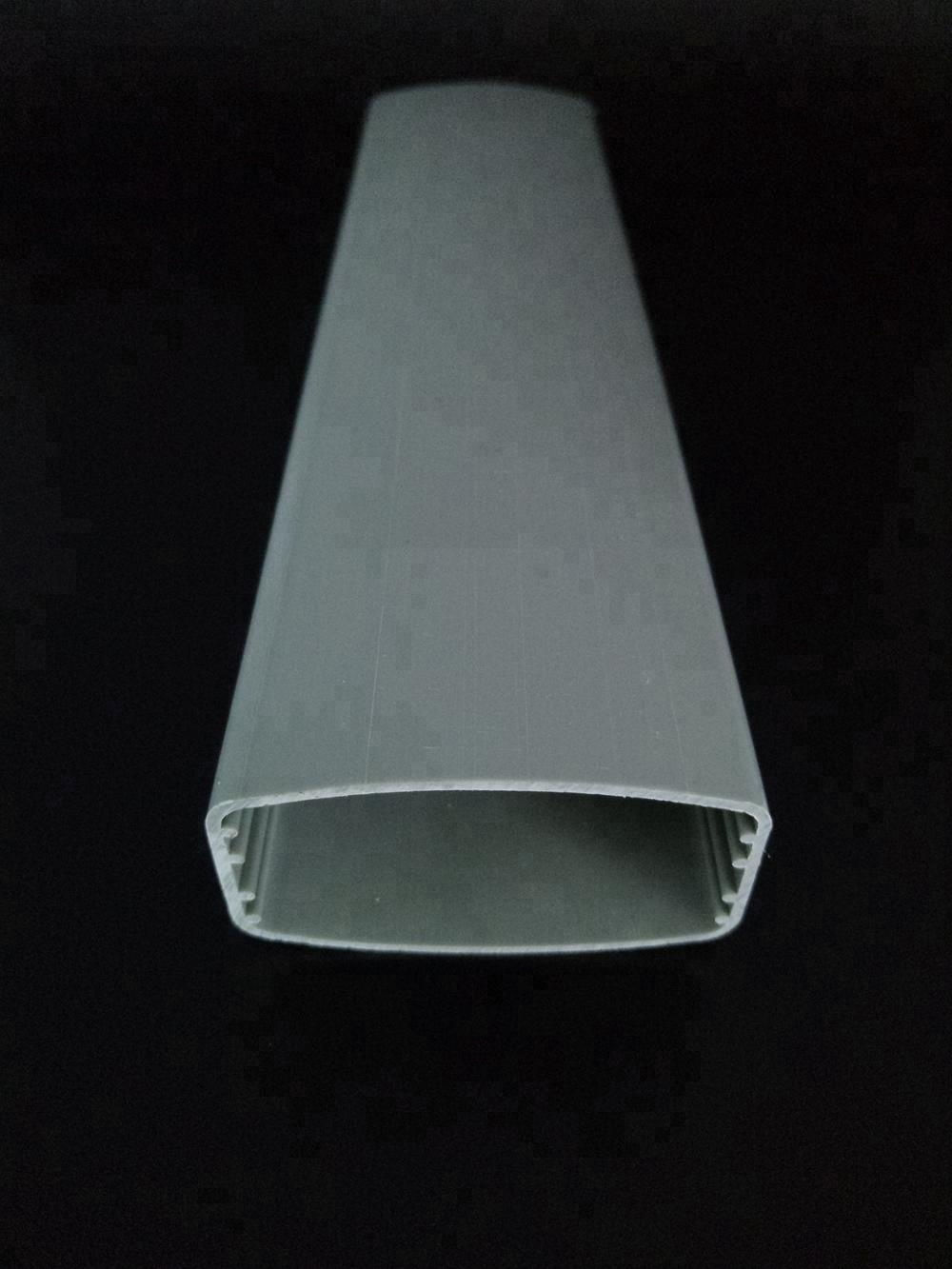 Hot sale for wall protect Popular pvc chamfer profile/plastic chamfer