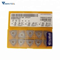 Japan manufacturer Mitsubishi carbide turning insert WNMG080404-MA VP15TF for steel lathe cutting tool