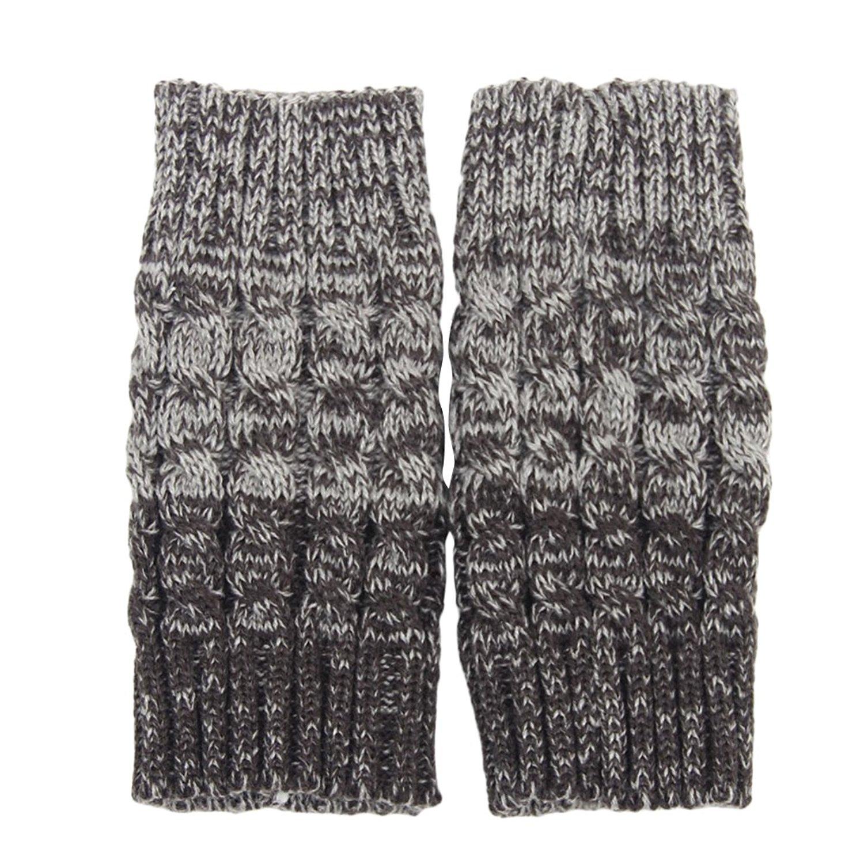 3d217ef8cb2 Get Quotations · JoyVany Short Leg Warmer Knit Boot Socks Topper Cuff 2016 Crochet  Boot Cover