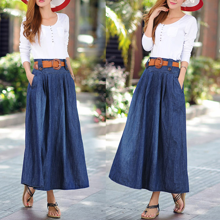 Vintage Jean Skirts 42