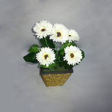 Real touch 인공 장식 rainbow <span class=keywords><strong>gerbera</strong></span> daisy 꽃 대 한 \ % Sale