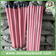 pvc coated wooden stick/plastic broom handle/