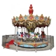 hot sale ! outdoor christmas fairground merry go round carousel cheap selling