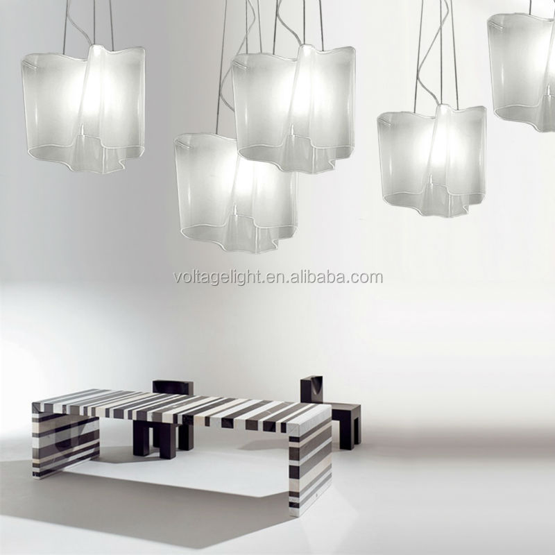 China Supplier New Product White Cloud Shape Glass Led Pendant ...