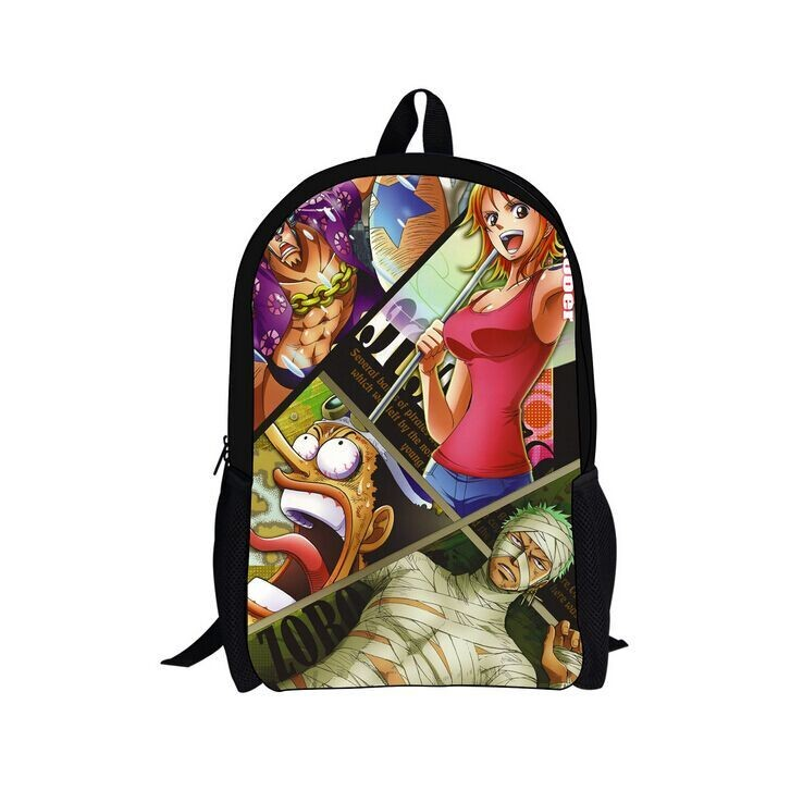 New) 2017 Most Popular Anime School Bags, Anime One Piece ...