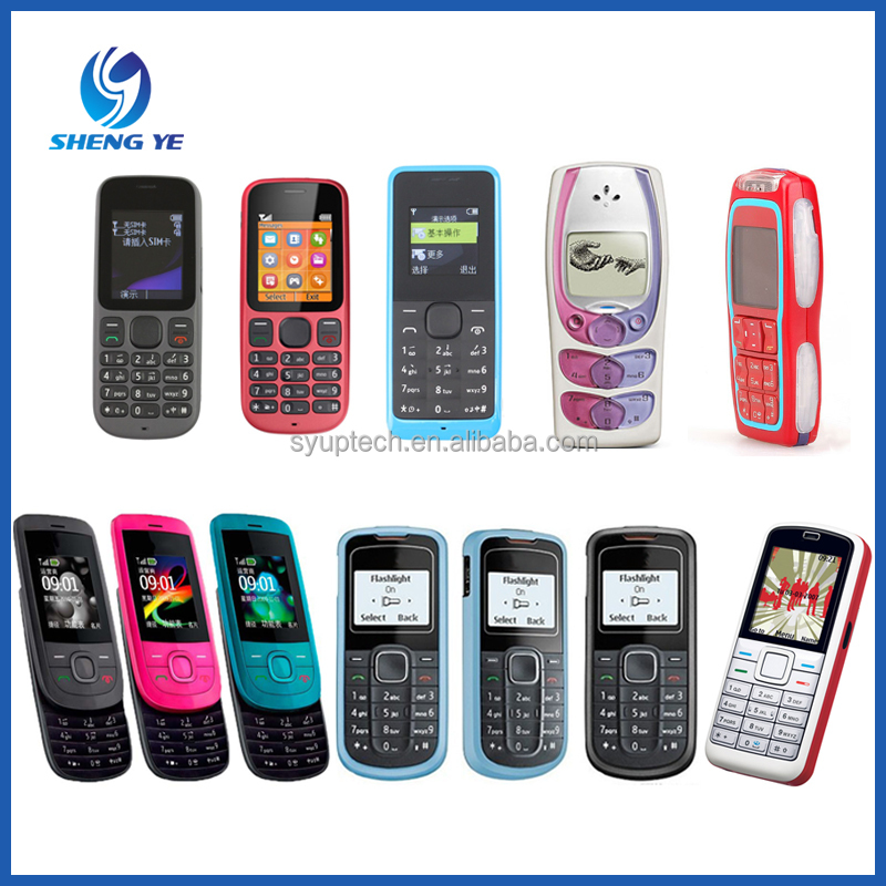 Hot Selling Mobile Phone Lowest Price For Nokia 100, 101, 105, 2220, 2300, 3220, 5070, 3310