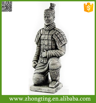 Exceptionnel Oriental Decor Terracotta Warriors Replica Chinese Warrior Terra Cotta Garden  Statues