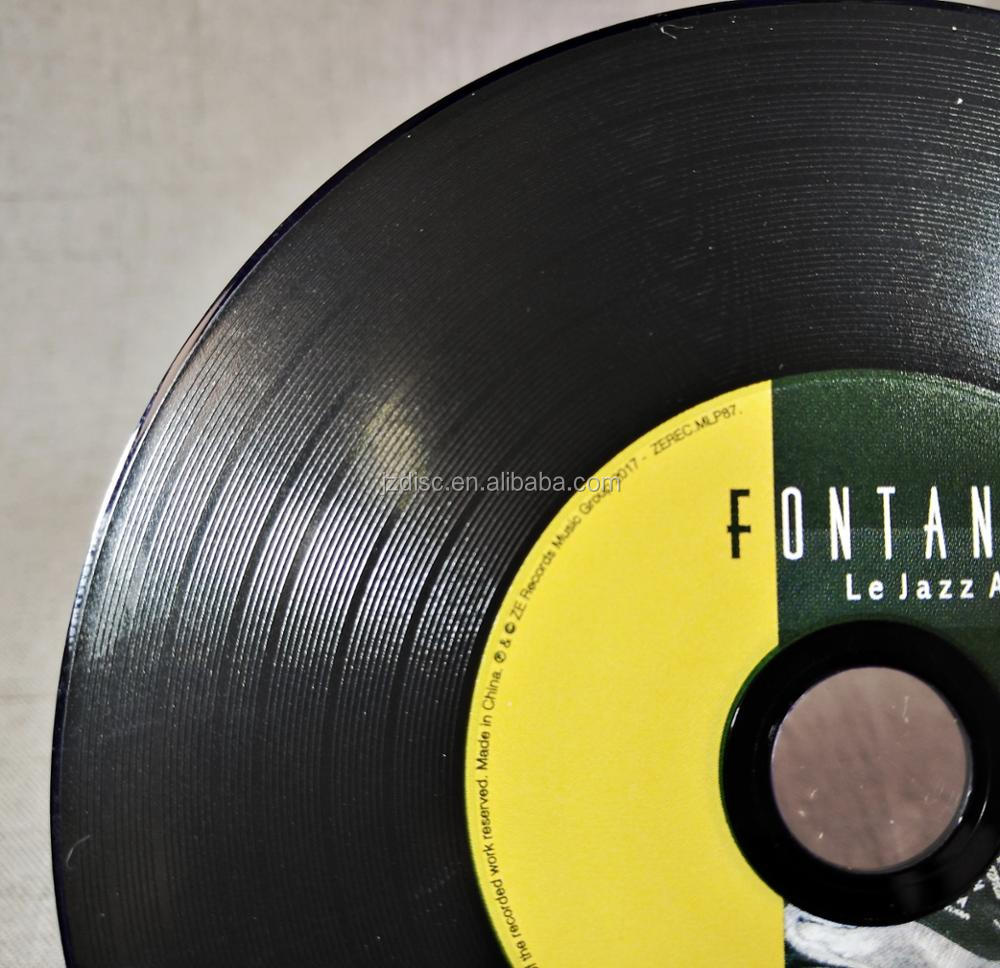 vinyl Colour CD replication Duplication with Printing