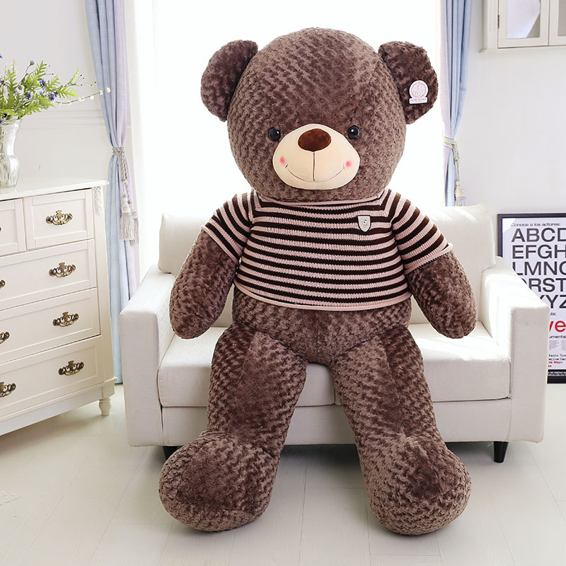factory wholesale stuffed animals bear toys, custom sweater teddy bear plush