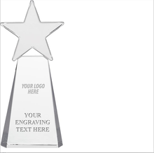 New Arrival Customized Colors Crystal Star Trophy For Thanksgiving Gifts