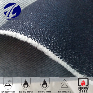 China Cotton Flame Retardant Denim Fabric for Welder Suit