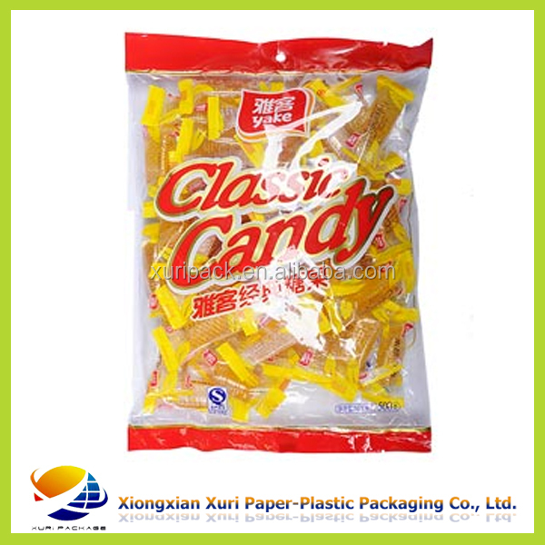 High quality Stand up with ziplock plastic bag for Sugar