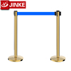 Queuing Line Control Divider/Metal Belt Stanchions/Event Pedestrian Post for Sale
