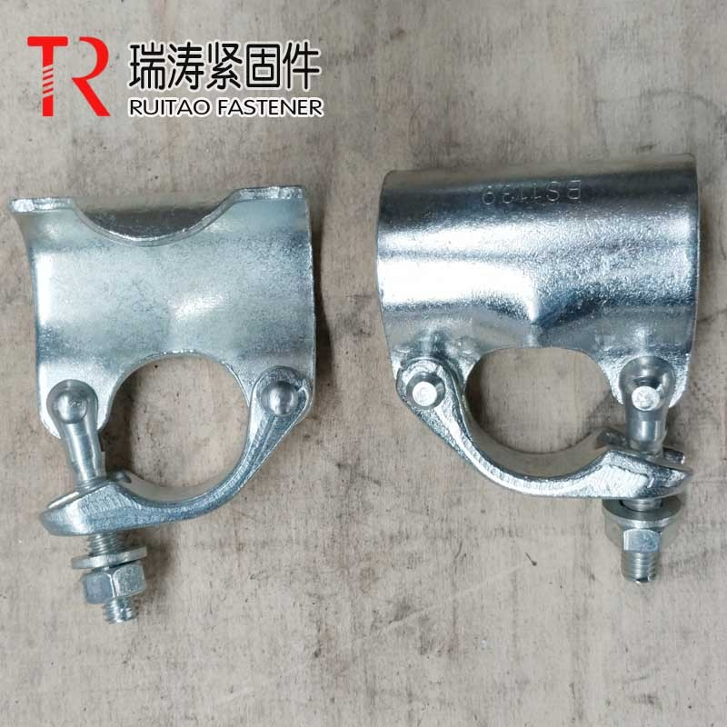 British Types of Putlog Coupler/ Clamp Scaffolding Coupler