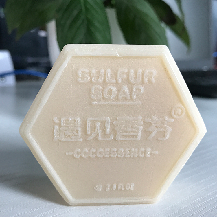 Chinese supplier 80G laundry soap carving designs