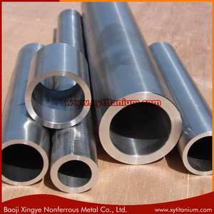 Deep hole drilled Titanium Hollow Bars Grade 5 or Grade 2