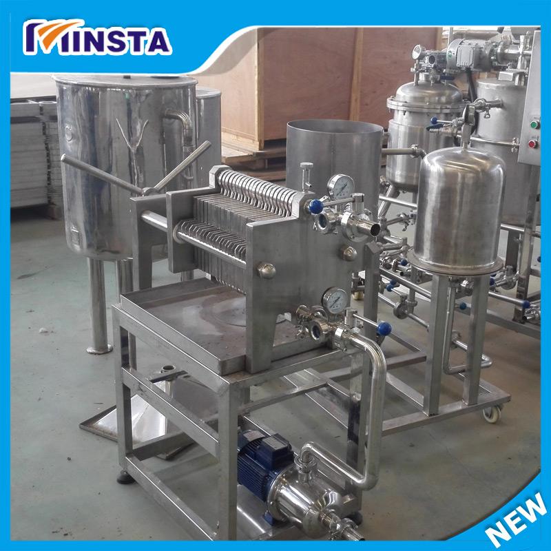 Finden Sie Hohe Qualität Platte Und Rahmen Kieselgur-filter Für Bier ...