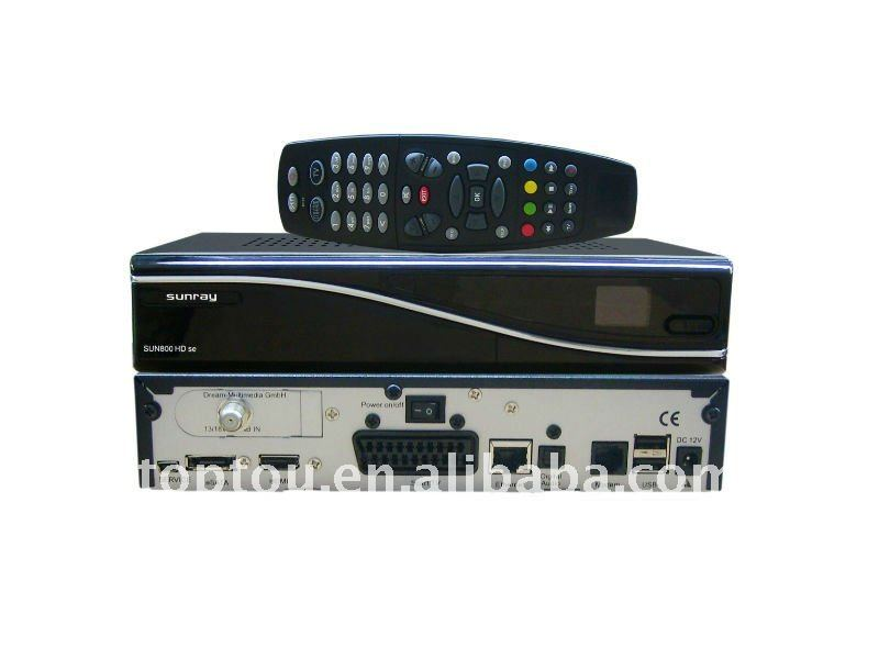 sunray 800 se hd satellite tv receiver