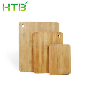 Bamboo Cutting Board Set 3 Pieces with HTB Lasering Logo