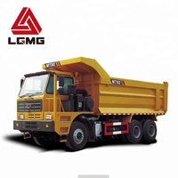 LGMG MT50 18000 kg left hand driving off-road sand carrying mining truck vehicle