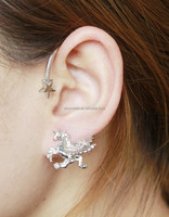 unicorn earring,magic unicorn with star earring(SWTMDZ058)