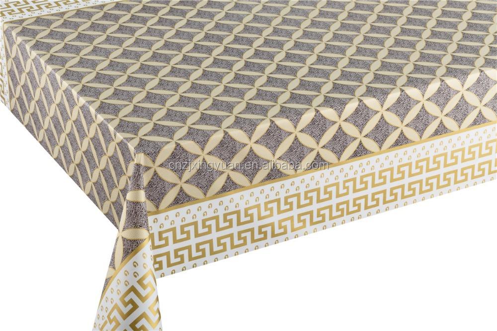 Gold And Silver Tablecloth Pvc Silver Vinyl Table Cloth In Roll   Buy Gold  And Silver Fabric,Thick Vinyl Table Cloths,Pvc Tablecloth Product On  Alibaba.com