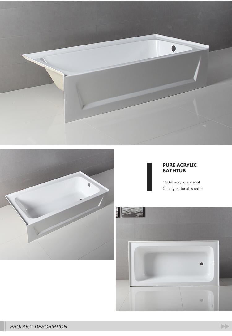 Fancy Design 60 Inch American Low Apron Skirt Tub Economic Bathtub ...