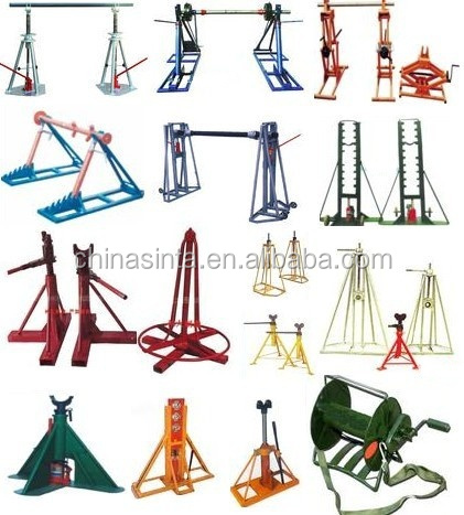 Cable Stand With Hydraulic Jack - Buy Cable Drum Stand,Cable Reel ...