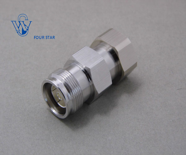"""7//16 DIN Male Plug Female jk center clamp for 1//2/"""" corrugated cable RF connector"""