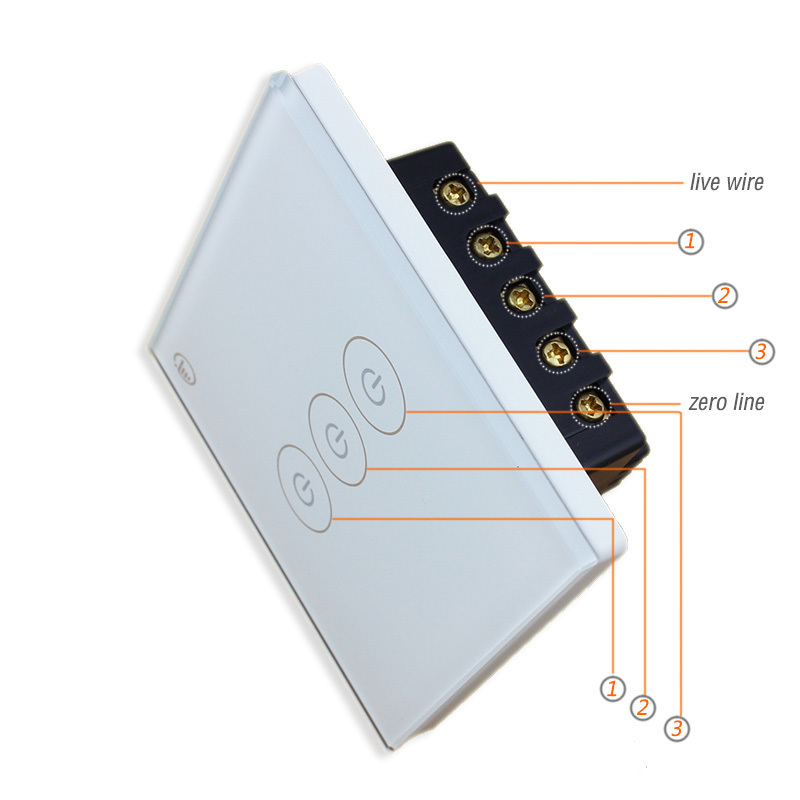 Get Quotations Free Shipping Three Way Wifi Wall Switch With Remote Control And Timing Function For Smart Home