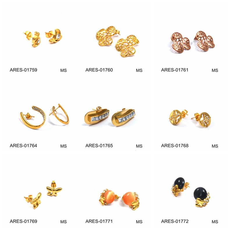 Elegant Gold Earring Designs for Female Images with Price ...