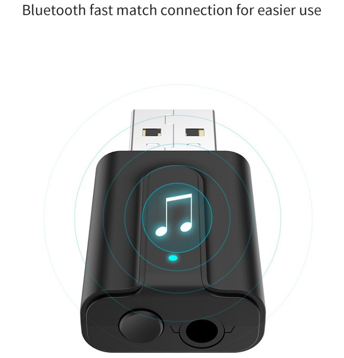 802.11AC 2 in 1 WiFi Bluetooth USB Adapter for PC, TV ,Car
