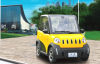 4 wheel drive 2 seats cheap EV micro car with high quality EEC