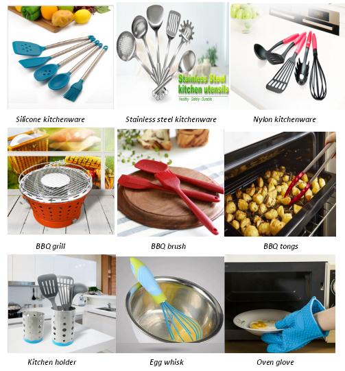 Oem strumenti di cottura utensile da cucina set diversi tipi di mestolo in acciaio inox cucina - Strumenti da cucina ...