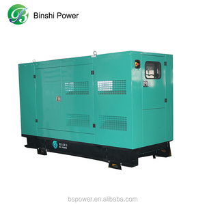 80KW 100KVA silent biogas/natural gas/LPG/LNG electric generator