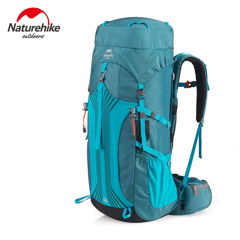 Naturehike 65L Professional Mountaineering Backpack Large Capacity trekking backpack hiking