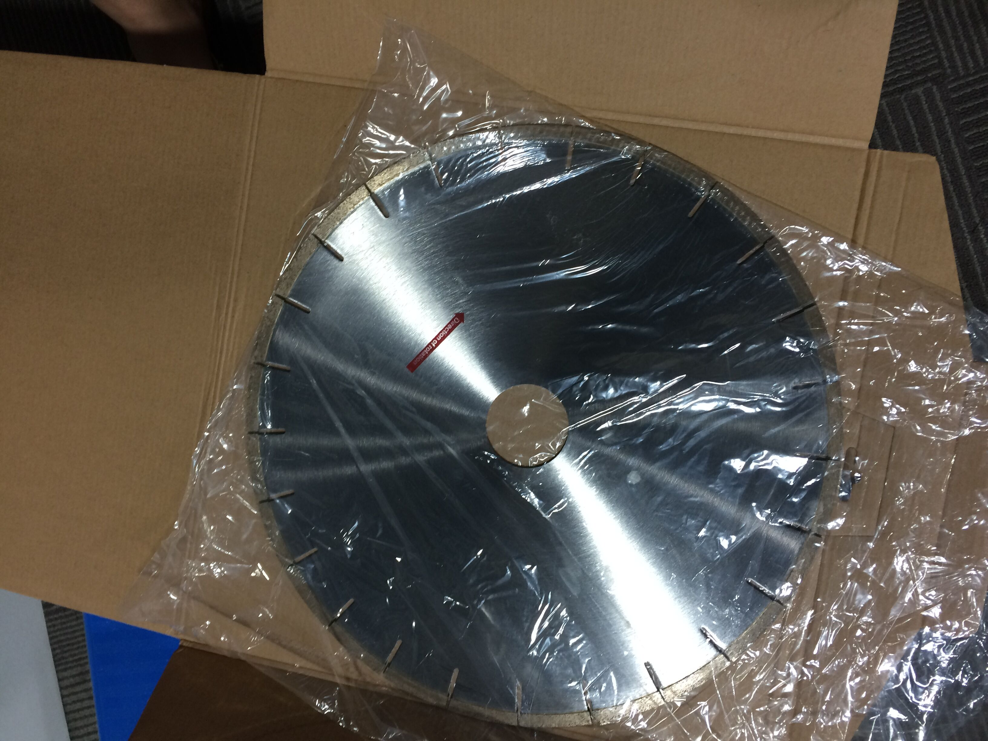 China manufacturer 800mm circular saw blade for factory use