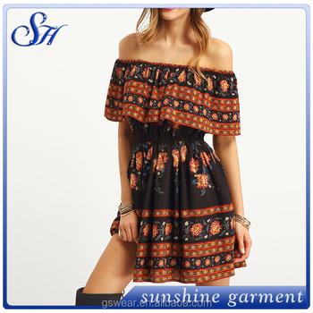 89f6fcbf59d Fashion Dress Loose Style Ladies Western Dress Designs - Buy ...