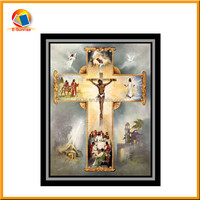 3d printing picture of Jesus Christ 3d India god religious picture