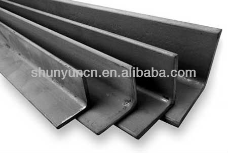 High quality hot rolled carbon steel equal/unequal galvanized angle iron S275 for construction