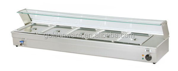 BM-5 New Product Hot-Sale 4-tank food warmer bain marie