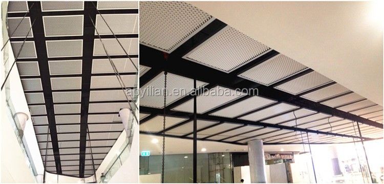 Pvdf Powder Wall Decoration Aluminum Expanded Metal From China ...