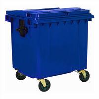 Galvanized Metal Waste Container (1100 Lt)