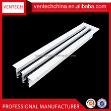 China supplier ventilation exhaust air diffuser linear slot diffuser ac vent covers