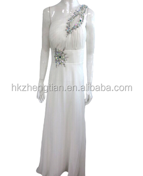 Vestido blanco fiesta barato