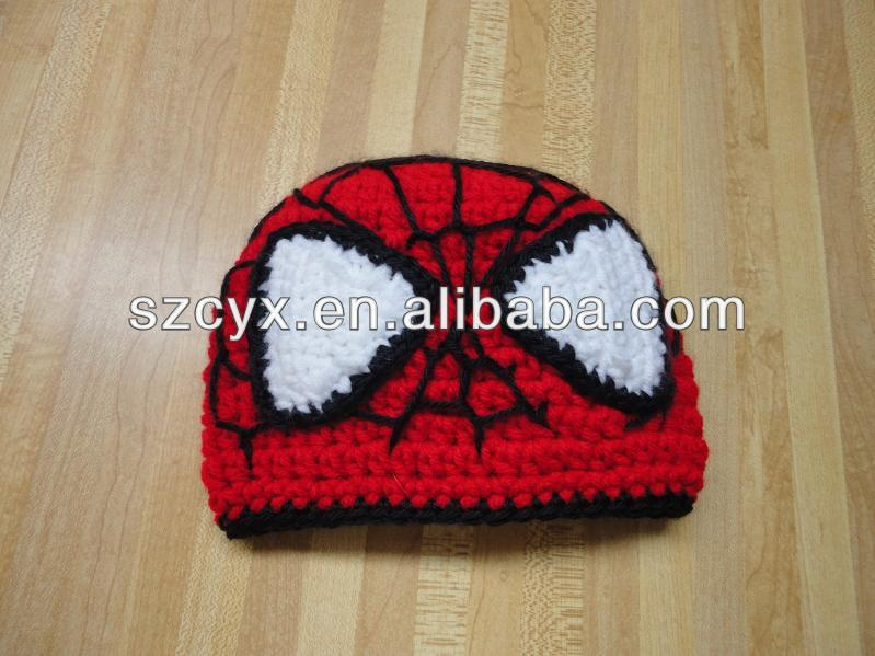 Knitted Spiderman Hat Knitted Spiderman Hat Suppliers And