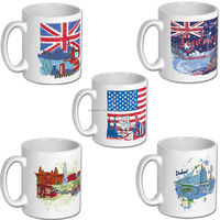 Dubai, London, USA, Amsterdam, Sydney Novelty Mug Gift Tea Coffee Office Mug