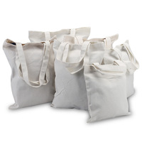 Cheap Eco-friendly plain organic cotton shopping bag for sales promotion
