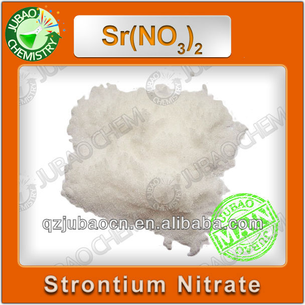 Firework Raw Materials High Purity Strontium Nitrate